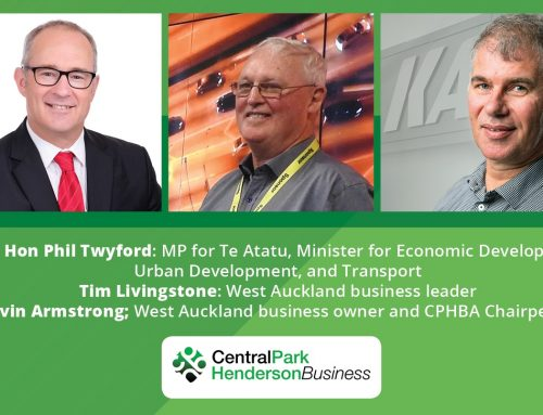 A CPHBusiness first with Hon Phil Twyford