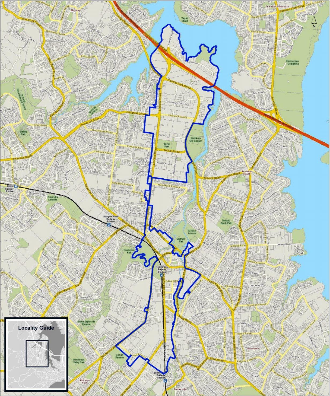 CPHBA BID Area Boundary Map